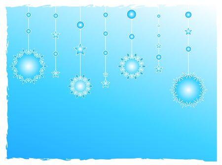 Snow flakes decorations