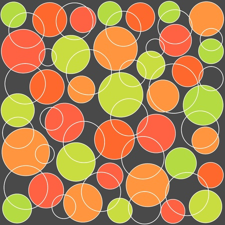 Colorful seamless circles