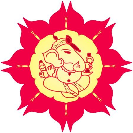 Indian God Ganesha Stock Photo