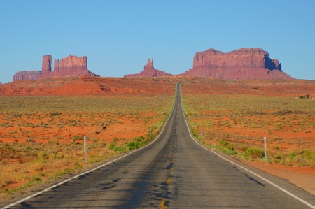 canyonland: All American Road Stock Photo