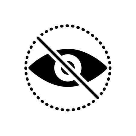 Hidden hide invisible Blind eye vision