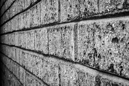 Brick Background in Black and White