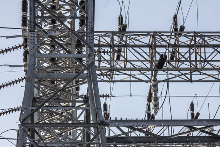 electrocute: Electrical substation