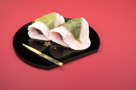 일본 sakuramochi (JI) 스톡 콘텐츠