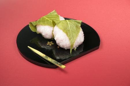 Sakuramochi Japan 版權商用圖片