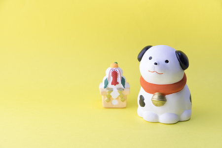 Cute dog figurines