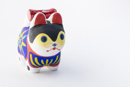 전통 개 일본 인형