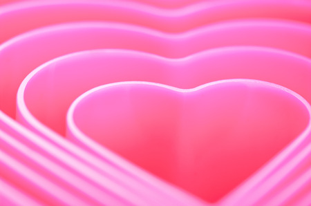 Pink heart image