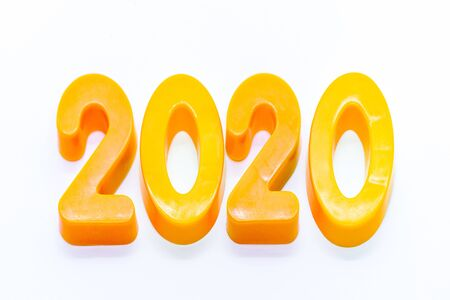 2020 written in block numbers