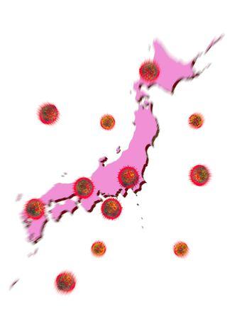 New Coronavirus Enlarged Image (Japan)