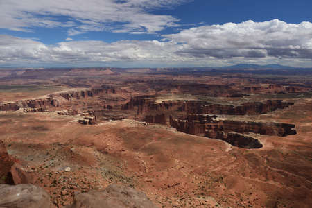 View from Island in the Sky at Canyonlands National Park, Utah, USA
