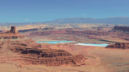 View from Dead Horse Point State Park in Utah