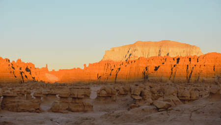 Clay formations at Goblin Valley State Park