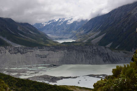 View from Sealy Trans Trail in Mt Cook National Park