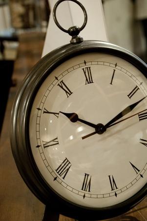 showed: Clock Showed on Desk for Time