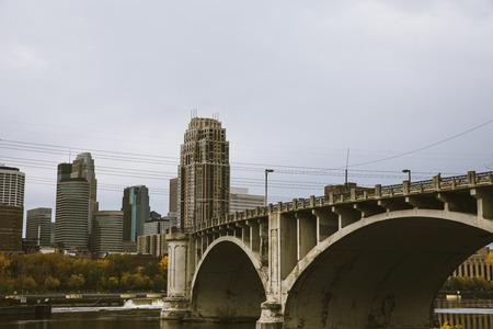 Bridge to Downtown Minneapolis