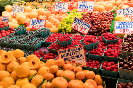 pike place market: Pike Place Market - Fruit