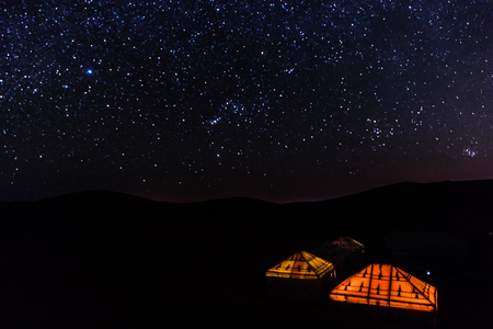 starry night sahara