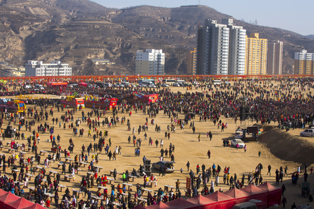 Northern Shaanxi spring festival at Culture Square 新聞圖片