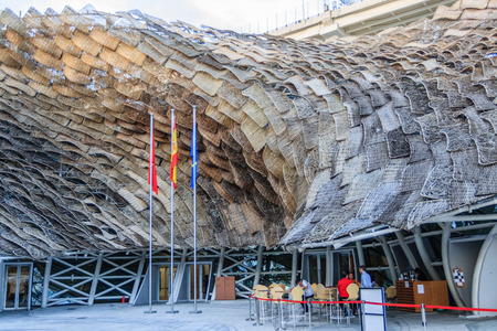 expo: Spain Pavilion, World Expo, Shanghai Editorial