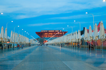 the world expo: China Pavilion in World Expo, Shanghai Editorial