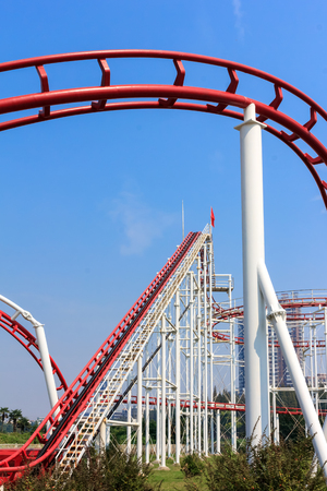 rapid steel: Roller coaster track