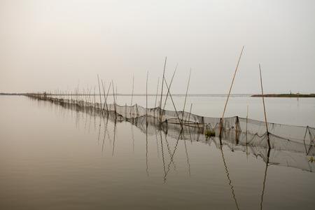 long lake: Lake of the Long Lake Stock Photo