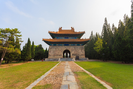 architectural building: Ancient architectural building in Hebei, China