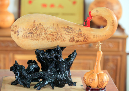 inherit: Draw on the gourd