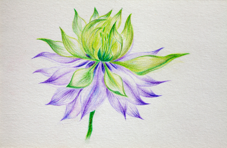 brushwork: color lead creation flower