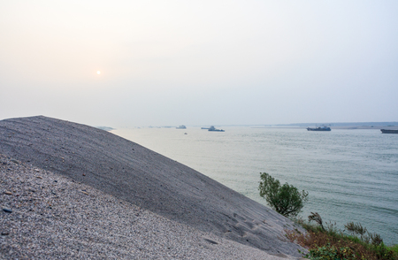 diversion: Scenery scenic area of Jingzhou Jingjiang Flood Diversion Project