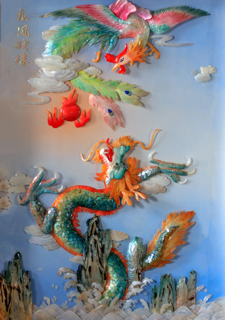 immaterial: China style seashell art picture