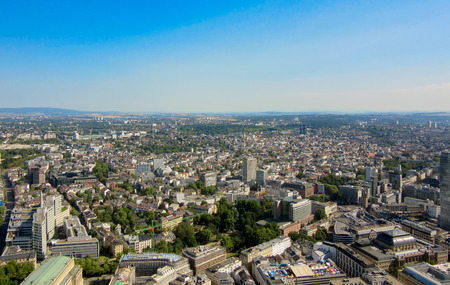 Landscape view of the city of Europe