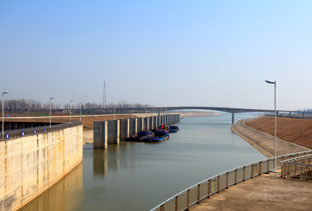 The South North Water Diversion Project water diversion water conservancy facilities