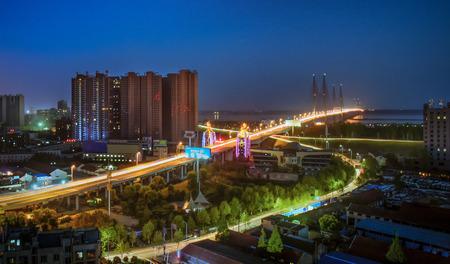 taillight: Automobile, road, night scene, light rail