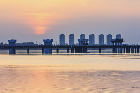 reloj de sol: Sunset scenery