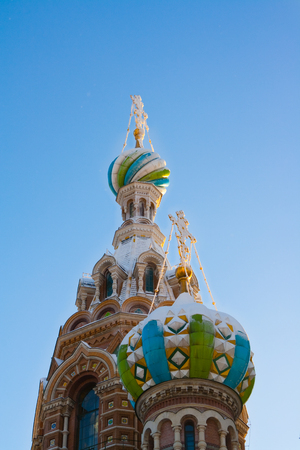 piter: Church of savior on Spilled Blood in St. Petersburg, Russia.