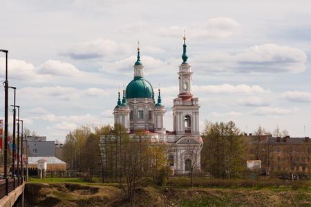 leningrad: The current Cathedral of St. Catherine. Kingisepp of Leningrad oblast, Russia
