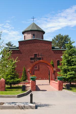 apostolic: Armenian Apostolic Church of the blessed virgin Mary, city of Vsevolozhsk, Leningrad region, Russia