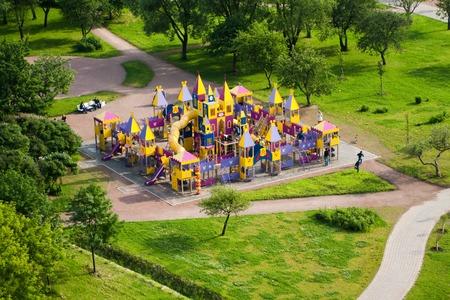 Saint Petersburg, kids castle in Park