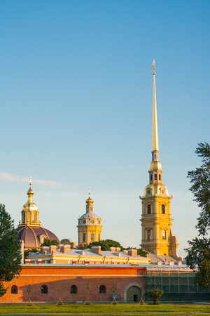 Peter and Paul Fortress, St Petersburg, Russia Stok Fotoğraf - 72722049