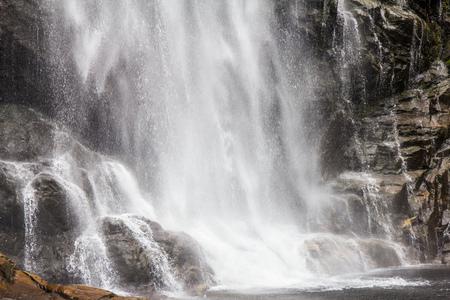 Skjervsfossen waterfall in Hordaland, Norway, nord Europe