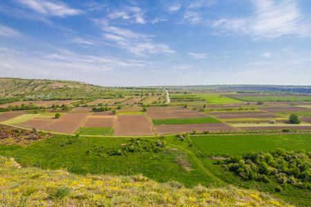 Beautifull view to Old Orhei Vechi famous travel destination in Moldova Stok Fotoğraf