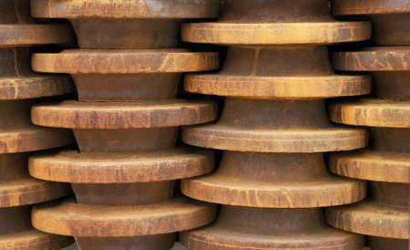 Metal parts Stock Photo