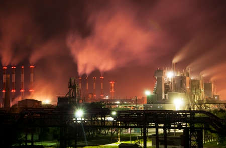 metallurgical: Metallurgical plant-3