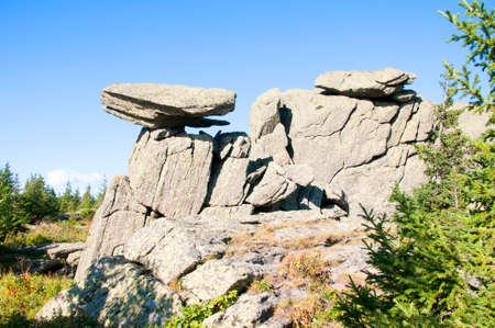 Rock Cap. Taganay. Southern Urals
