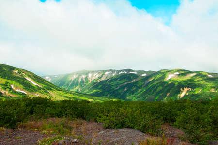 kamchatka: Mountains in Kamchatka Stock Photo