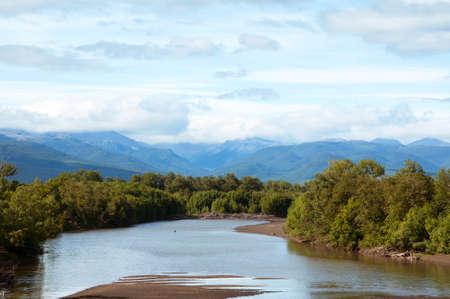 kamchatka: Views of the river Kamchatka