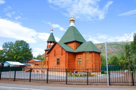 kamchatka: The Russian Orthodox Church in Kamchatka Stock Photo