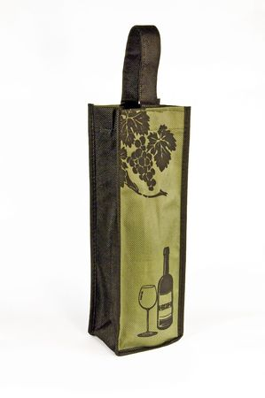 reciclable: Tote vino reciclable